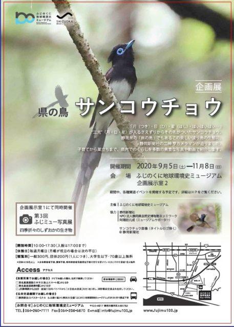 県の鳥 サンコウチョウ